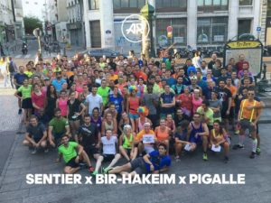 courir en groupe adidas runners