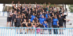 courir en groupe garmin team running