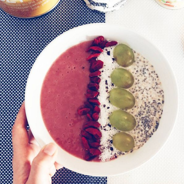 smoothie bowl fraise banane