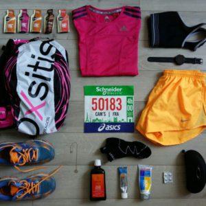 veille de marathon de Paris