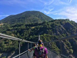 Trail des Passerelles du Monteynard - Cam Dewoods