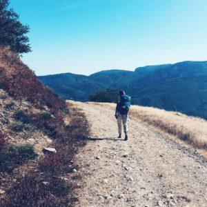 Chemin de Compostelle -voie d'Arle ou Via tolosana