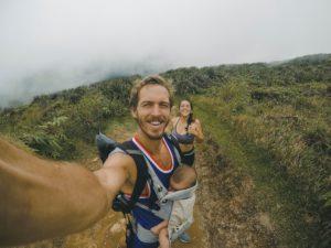 randonner avec bébé - baby hiking