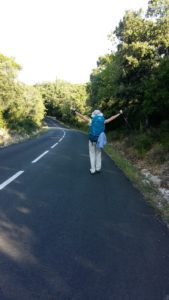 Compostelle GR653 voie d'Arles Montarnaud à Saint-Guilhem-le-Désert