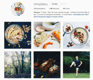 Ohmybidou recettes vegan et végétalienne sans gluten