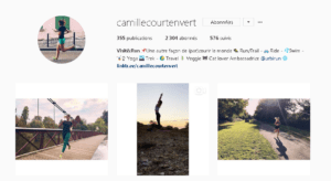Visit and Run Camille court en vert