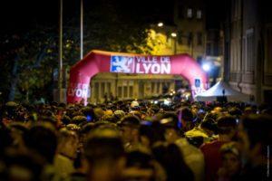 Lyon Urban Trail by night
