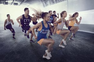 collection reebok les mills