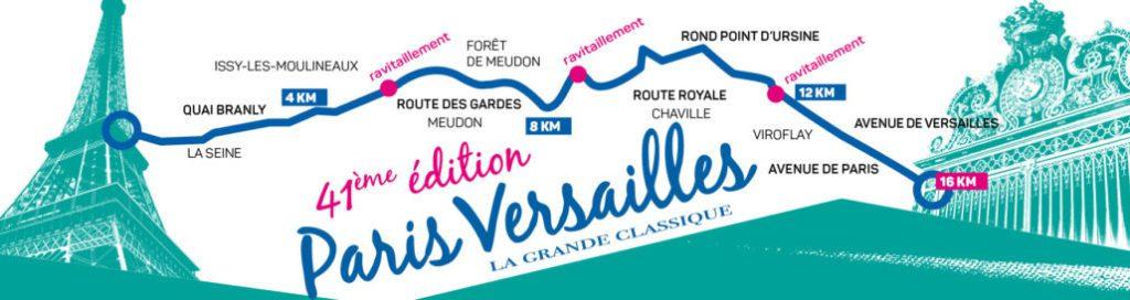 parcours Paris Versailles