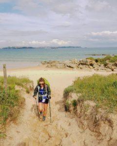 pourquoi utiliser des bâtons de randonnée sur le sable - blog randonnée