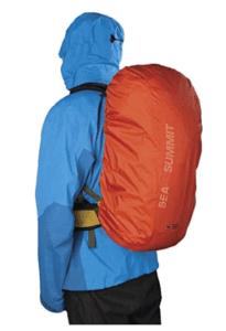 protéger son sac à dos de la pluie - sea to summit _ blog randonnée