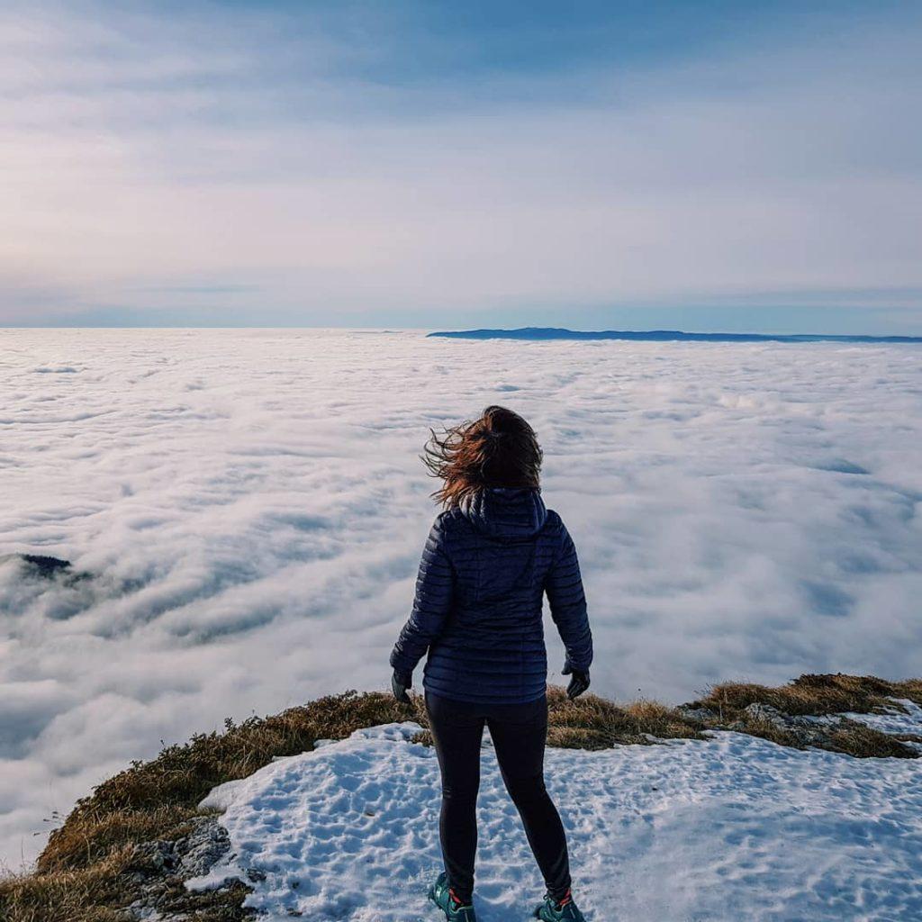Randonnée Parmelan proche Annecy - mer de nuages