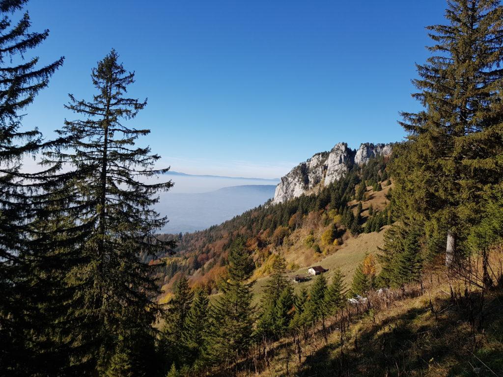 Randonnée Parmelan proche Annecy - montagne été