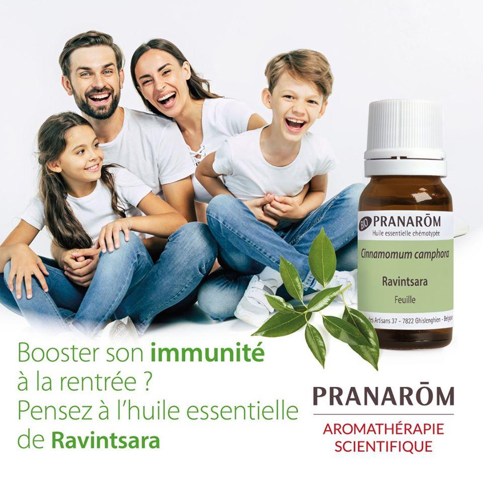 booster ses défenses immunitaires - huiles essentielles Ravintsara