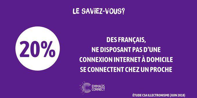 Emmaüs Connect - exclusion numérique