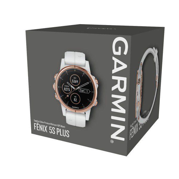 Garmin Fenix 5S Plus Rose Gold Sapphire - montre sport