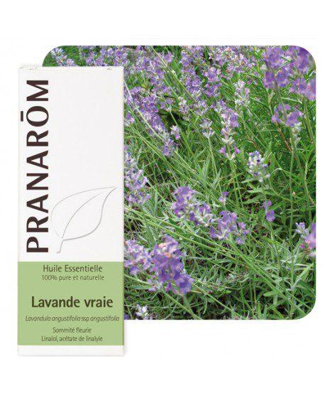 Pranarôm huiles essentielles anti-stress-Bio lavande-vraie