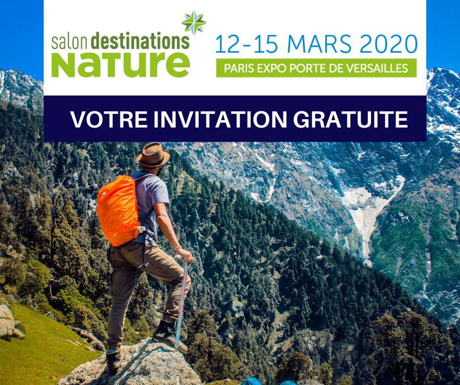 Salon Destinations Nature 2020 - INVITATION GRATUITE