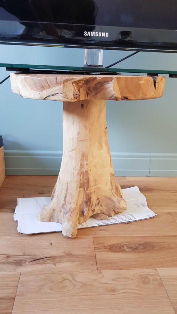 Où acheter des meubles d'occasion - tabouret en bois
