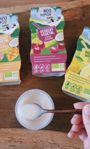 desserts végétaux lait de coco sans sucre - Danival